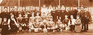 Walsall FC team pic